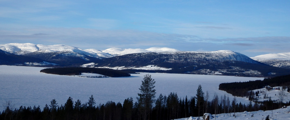 Jormsjön winter