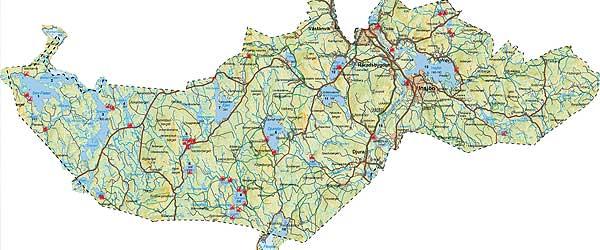 leksand karta Fiske i Leksand Insjön (iFiske.se) leksand karta